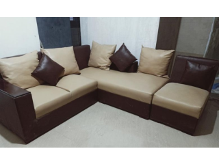 L pattern sofa set
