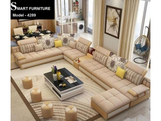 Smart design U-Shape sofa Set Model -4289