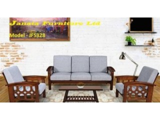 Wooden Sofa set - JFS328