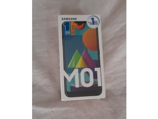 Samsung M01 (new)- Full box